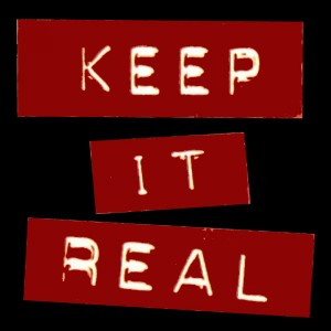 being real